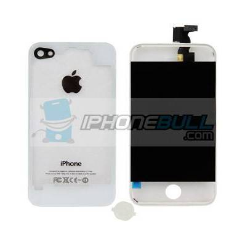 Kit de Conversión iPhone 4S - Blanco Transparente