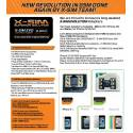 X-SIM EVO iPhone 4S