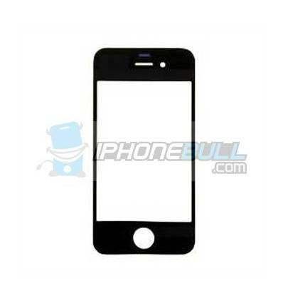 Cristal frontal iPhone 4S Negro