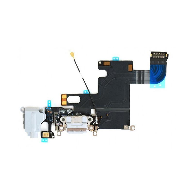 Flex Conector auricular microfono iPhone 6 (Blanco)